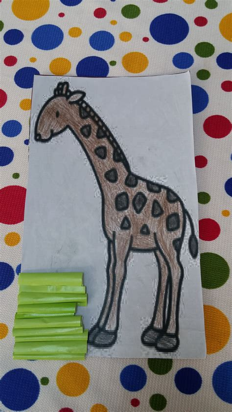 giraffe crafts for giraffe craft ideas for kindergartners preschool crafts
