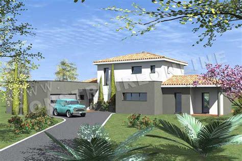 Garage Maison Moderne Interieur by Plan De Maison Moderne Toast