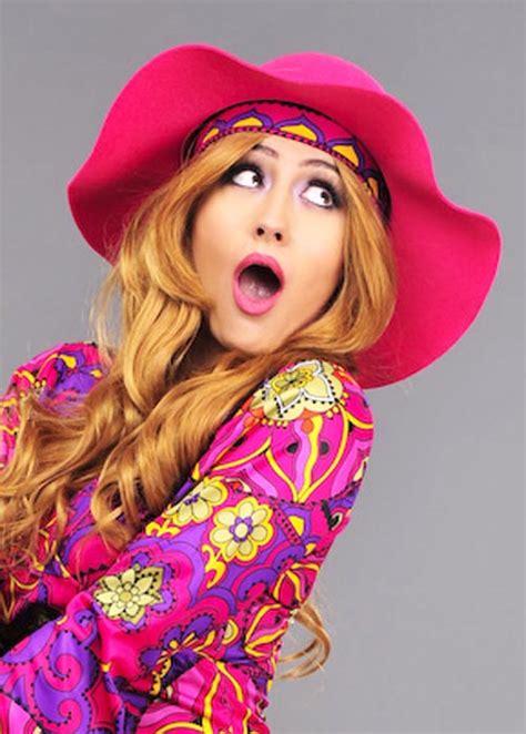 womens pink  floppy hippy hat