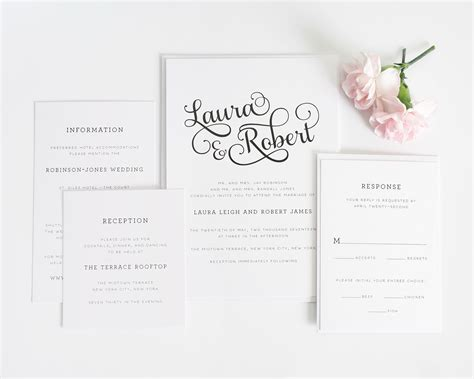 how to package wedding invitations sweet wedding invitations wedding invitations by shine