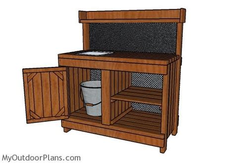 potting bench with sink plans 544 best images about diy plans on pinterest