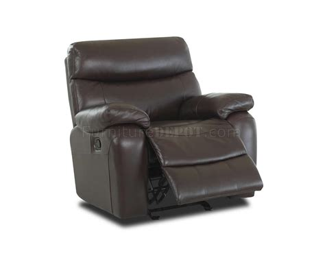 Comfortable Leather Recliner by Berry Color Top Grain Leather Comfortable Reclining Living