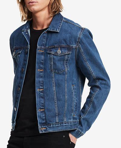 Jaket Levis Hoodi calvin klein s denim jacket coats jackets macy s
