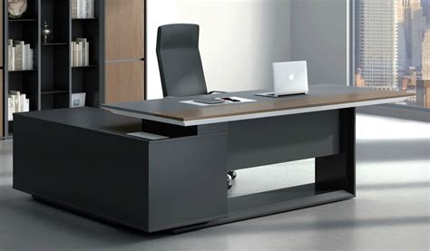 tables for office stylish larry office table in wood leather s cabin