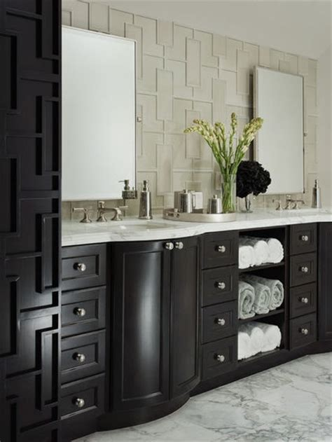 Bathroom Vanities With Towel Storage Towel Storage In Bathroom Vanity Bathroom Ideas Pinterest