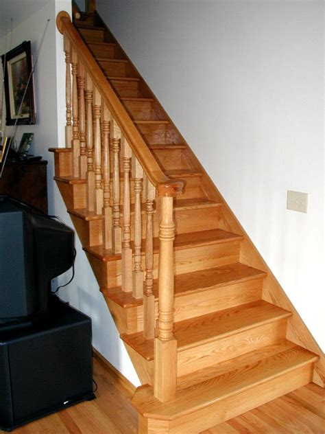 hardwood stairs pictures weisbeckconstruction com 307 921 1314