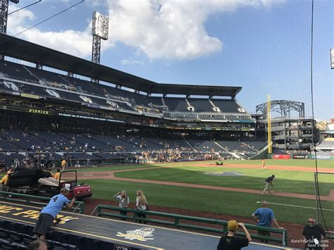 pnc park section 117 pnc park section 10 rateyourseats com