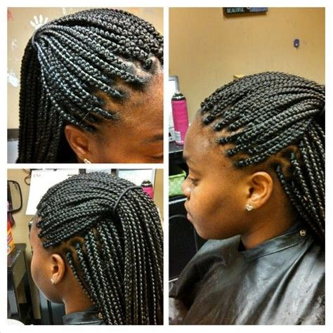 what isnthe length for box braids 17 best images about box braids in a bun on pinterest