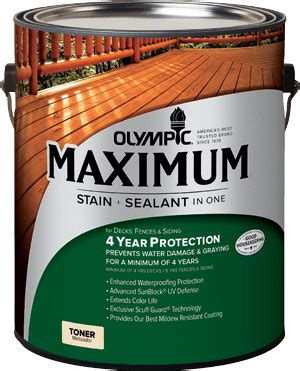 olympic exterior wood stains poco building supplies