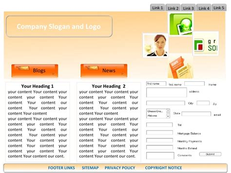 Modification Website by Loan Modification Website Templates