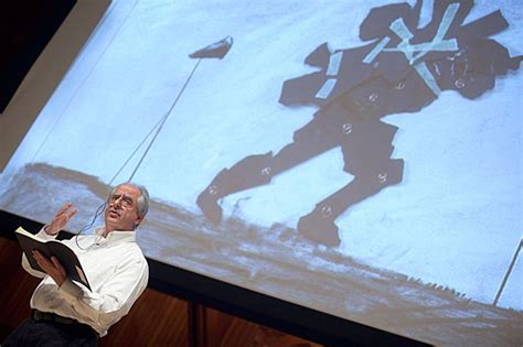 6 Drawing Lessons William Kentridge by Artist Touts Primacy Of Images Harvard Gazette