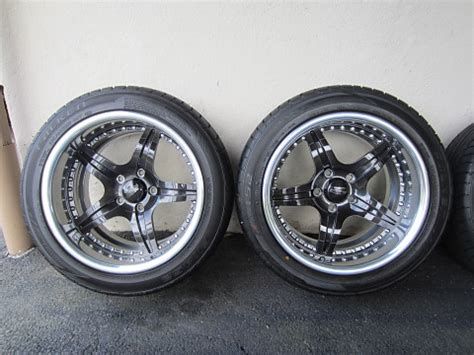 """rushforth 17"""" troopers w/tires for sale"""