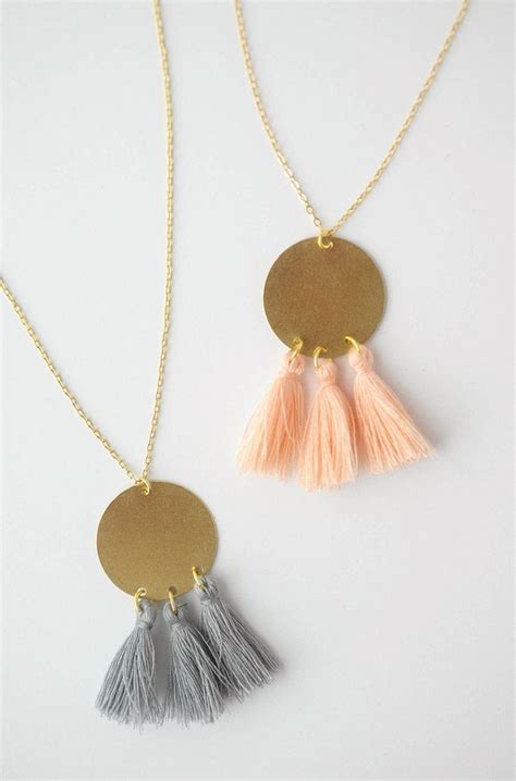 Tassel Necklace best 25 tassel necklace ideas on collares