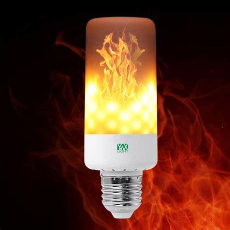 Flickering Led Light Bulbs 2018 Ywxlight Led Light Bulb Leaping Flickering E26 Ac 85 265v Warm White In Led