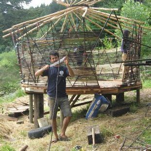 how to build a green home how to build a low cost diy yurt from sticks string and