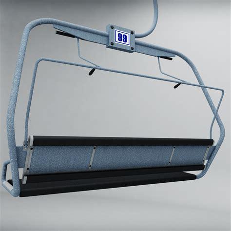 ski lift chair by kr3atura 3docean