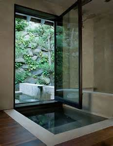 awesome indoor outdoor bathrooms