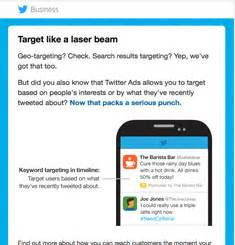 twitter newsletter – email gallery