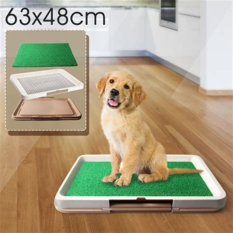 potty pad indoor doggie bathroom portable puppy pet toilet pad indoor dog grass restroom