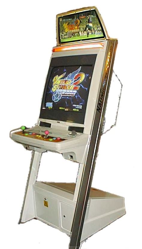 Gaming Cabinet 2000 by Virtua Striker 2000 Videogame By Sega