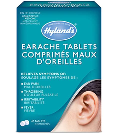 Ear Aches During A Detox by Hyland S Earache Tablets Hyland S Canada