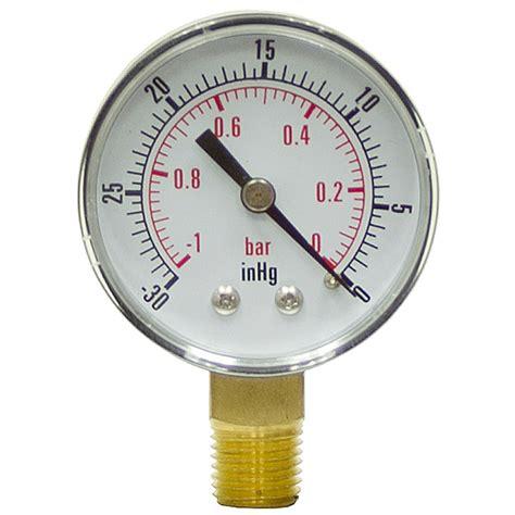 Vaccum Guage 30 quot 2 quot vacuum lm pressure vacuum gauges pressure gauges air pneumatics www