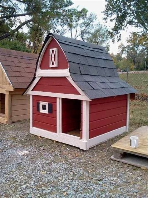 Dog Barn by Large Barn Dog House Dog Gate Pinterest