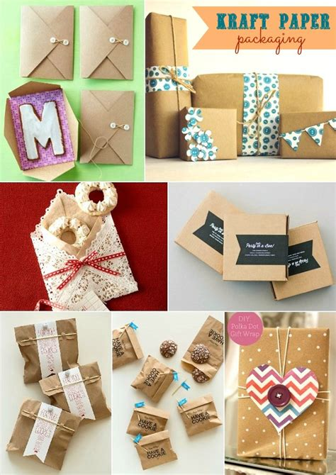 Craft Paper Packaging - dress up your favors with kraft paper packaging