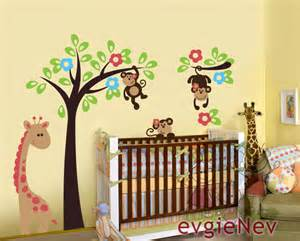 jungle stickers for nursery walls unavailable listing on etsy