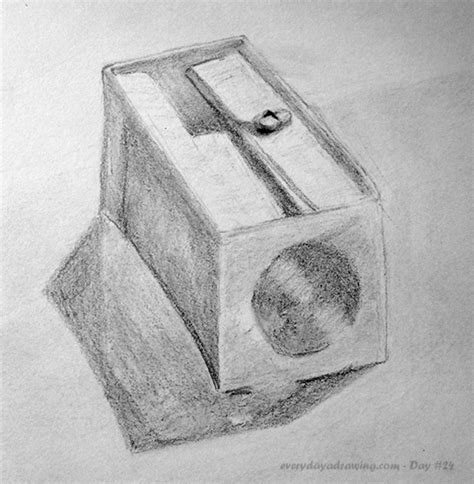 draw a pencil day 024 pencil sharpener drawing every day a drawing
