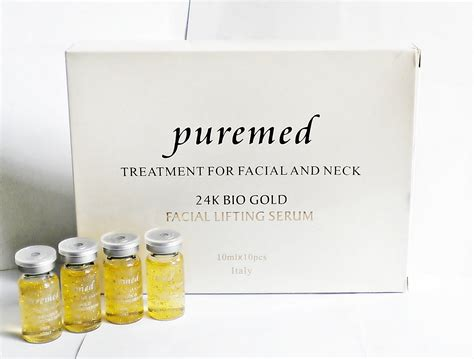Serum Emas Puremed mercybella shop purimed gold 24k serum made in italy