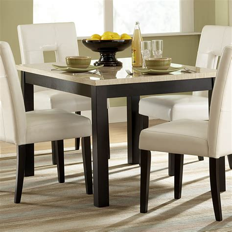 faux marble kitchen table homelegance 3270 48 archstone faux marble dining table
