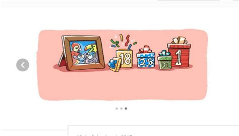 ver doodle de hoy adelanta las fiestas navide 241 as en su doodle pero