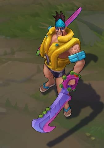 pool party draven lol skin spotlight pictures and videos