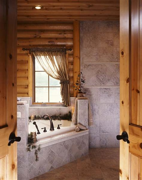 Bathrooms In Log Homes by 45 Rustic And Log Cabin Bathroom Decor Ideas 2018 Wall