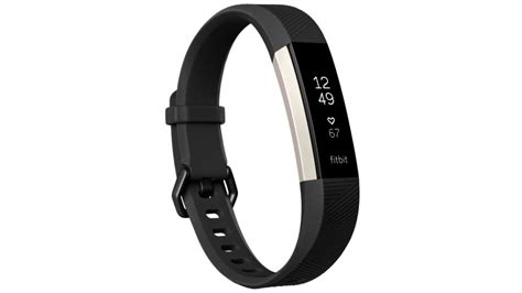 Fitbit Alta Hr Fitness Wristband Smartwatch Tracker Black L buy fitbit alta hr large fitness tracker black harvey norman au