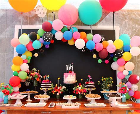 10 Simple Birthday Decoration Ideas At Home Hairstyles Easy | 10 simple balloon decorations at home for birthday