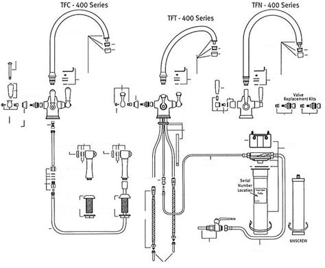 Kitchen Sink Faucet Parts Diagram by Franke Faucet Replacement Parts Befon For