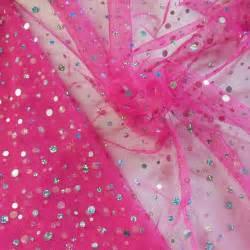 spangle sequins mesh tulle fabric silver on azalea wazp