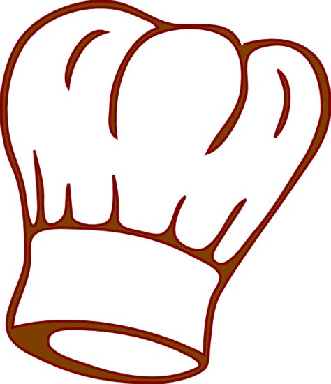 chef clipart chef hat clip at clker vector clip