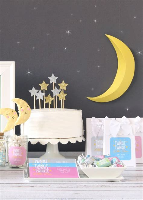 Moon And Baby Shower Ideas by 41 Gender Neutral Baby Shower D 233 Cor Ideas That Excite