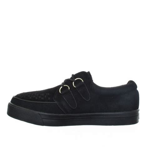 creepers shoes for tuk sneaker creepers in black womens shoes size 3 8 ebay