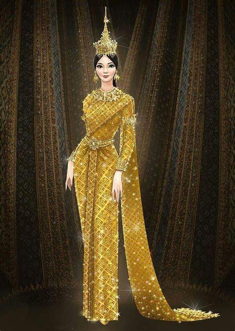 Simetris Back Dress Bangkok after tuk tuk dress miss universe thailand goes back to basic on national costume coconuts