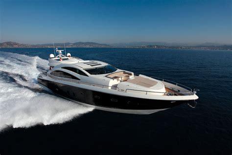 motorboat in spanish sunseeker split with distributor in spain motor boat