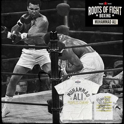Muhammad Ali Back To His Roots by Roots Of Fight Muhammad Ali Stinger Shirt