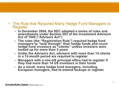 section 203 b 3 of the advisers act hedge fund manager registration in the wake of goldstein v