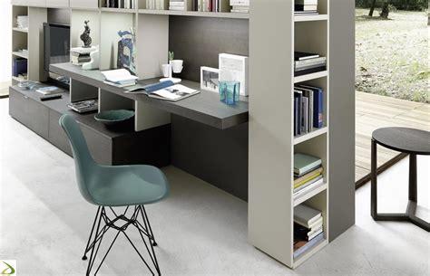 scrivania da salotto parete soggiorno con scrivania crimi arredo design