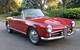 Alfa Romeo 1962 1962 Alfa Romeo Giulietta Spider Normale Bring A Trailer