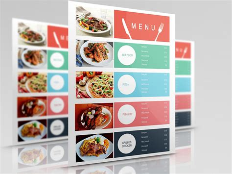 food court menu design top 31 free psd restaurant menu templates 2018