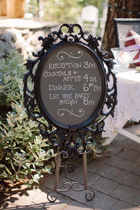 diy chalkboard frame wedding diy ornate chalkboard sign